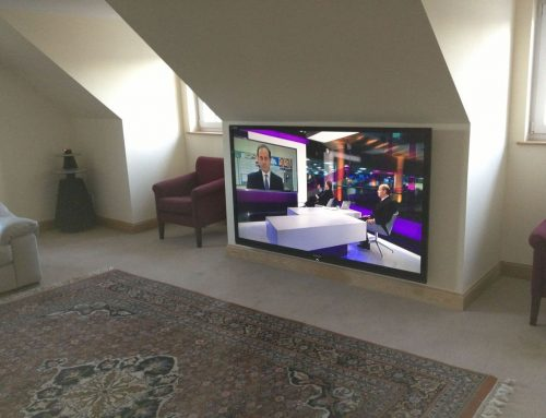 80 inch TV with B&O speakers & Sonos Bishopton
