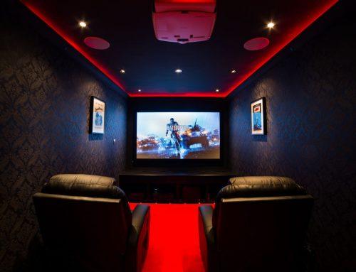 Garage to Home Cinema
