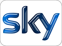 Sky TV Logo Digital TV Installation
